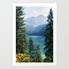 Eibsee #2 Art Print