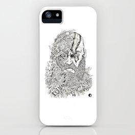 Kratos Doodle iPhone Case
