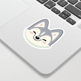Tiny Wolf Sticker