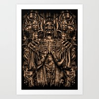 THE DARK LORD Art Print