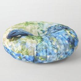 Monet Alligator Floor Pillow
