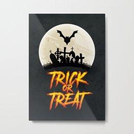 Halloween - Trick or Treat Metal Print