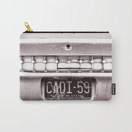 Vintage Car Plate Carry-All Pouch