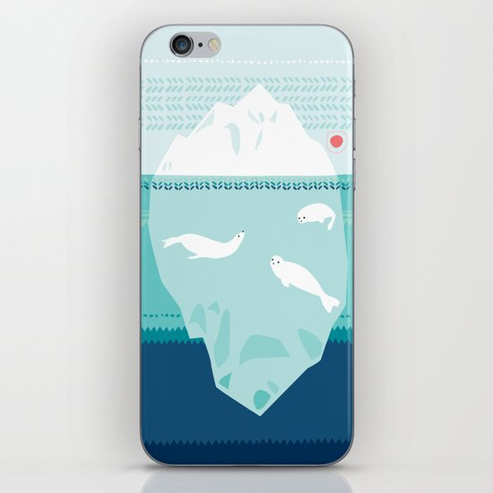 The Ice Lovers iPhone & iPod Skin