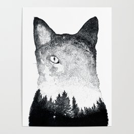 Spacekitten Poster