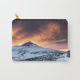 Golden hour sunset in Teide National Pak Carry-All Pouch