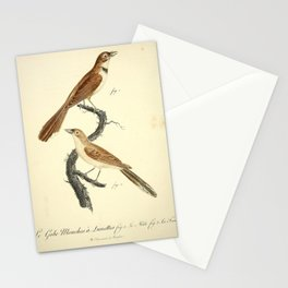 Gobe Mouches a Lunettes (Fr)2 Stationery Cards