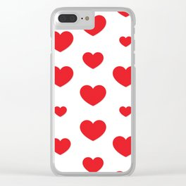 Happy Valentine's Day Clear iPhone Case