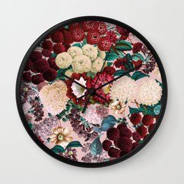 Summer Botanical Garden XII Wall Clock