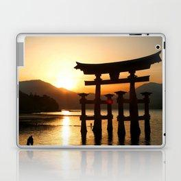 Itsukushima Shrine on Miyajima, Japan Laptop & iPad Skin