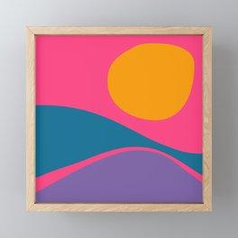 blissful Framed Mini Art Print