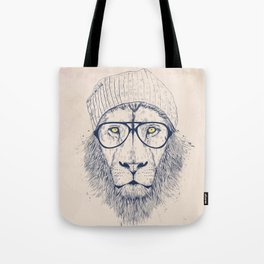 Cool lion Tote Bag