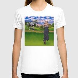 Princess Bitey vs. The Big Sis T-shirt