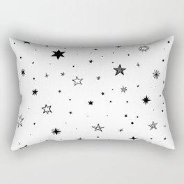 Doodle Stars Rectangular Pillow