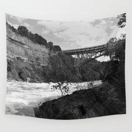 Niagara River Rapids Wall Tapestry