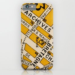 All About Paris II iPhone Case