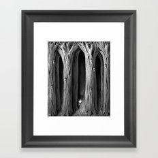 The Bug Hunt Framed Art Print