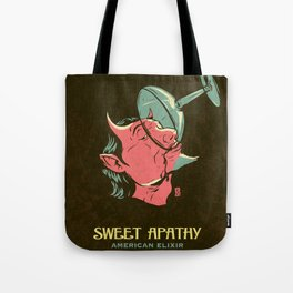 Sweet Apathy, American Elixer Tote Bag