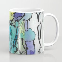 Oxhorn Abstract Watercolor Fine Art Painting Coffee Mug