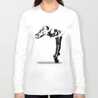 heels Long Sleeve T-shirts featuring High Heels Vector by Alli Vanes