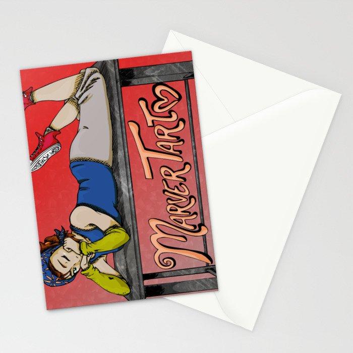 MarverTart Stationery Cards