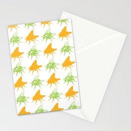Pretty Flies Pattern Stationery Cards