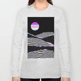 Stripes Mountains Long Sleeve T-shirt