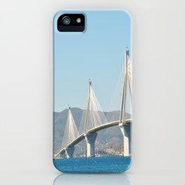 Rio Antirrio Bridge iPhone Case