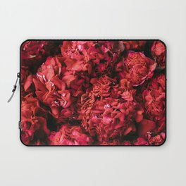 Red Camellia Flowers Laptop Sleeve