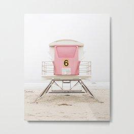 Pink Tower 6 Metal Print