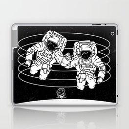 Astronaut black and white Gemini Laptop & iPad Skin