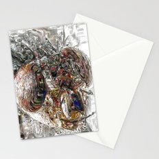 Musca Domestica aka The Fly . . .  An abstract Stationery Cards
