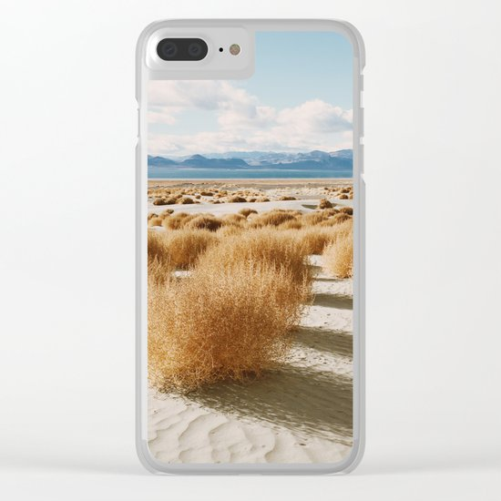 Paiute Land Clear iPhone Case