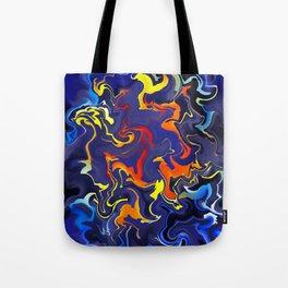 Slothamius V1 - digital abstract Tote Bag