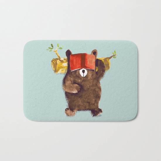No Care Bear - My Sleepy Pet Bath Mat