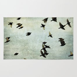 Birds Let's fly Rug