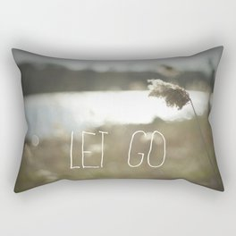 Let Go Rectangular Pillow