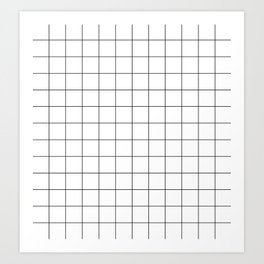 Parallel_002 Art Print