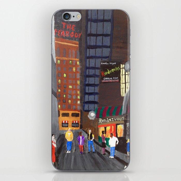 Rendezvous Alley, Memphis iPhone Skin