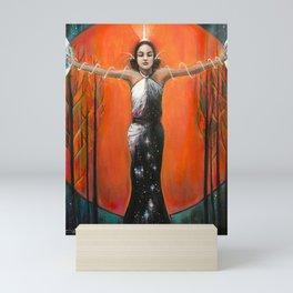 Strength - Tarot Card Art Mini Art Print