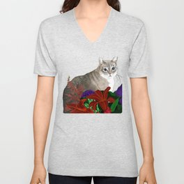 Beloved Kitty Unisex V-Neck