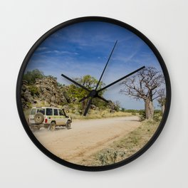 Leopold Downs Road Wall Clock