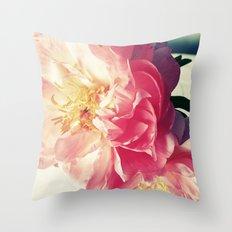 Peony Love Throw Pillow