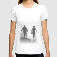 bond T-shirts featuring Surfers bond by Miguel Santos