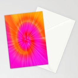 TIE DYE #1 (Fuchsias-Magentas, Reds & Oranges) Stationery Cards