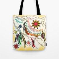 bohemian Tote Bags featuring Bohemian  by famenxt