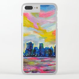 An Evening In Vancouver Clear iPhone Case
