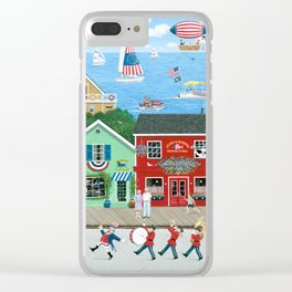 A Star Spangled Day Clear iPhone Case