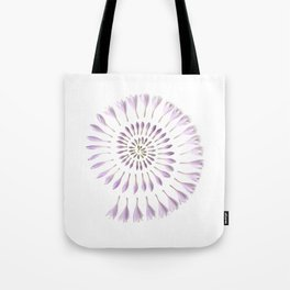 Flower Spiral Tote Bag