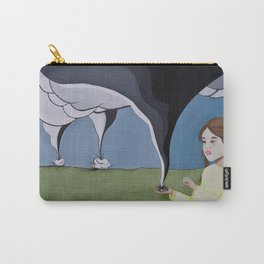 Protect Me From The Storm Carry-All Pouch